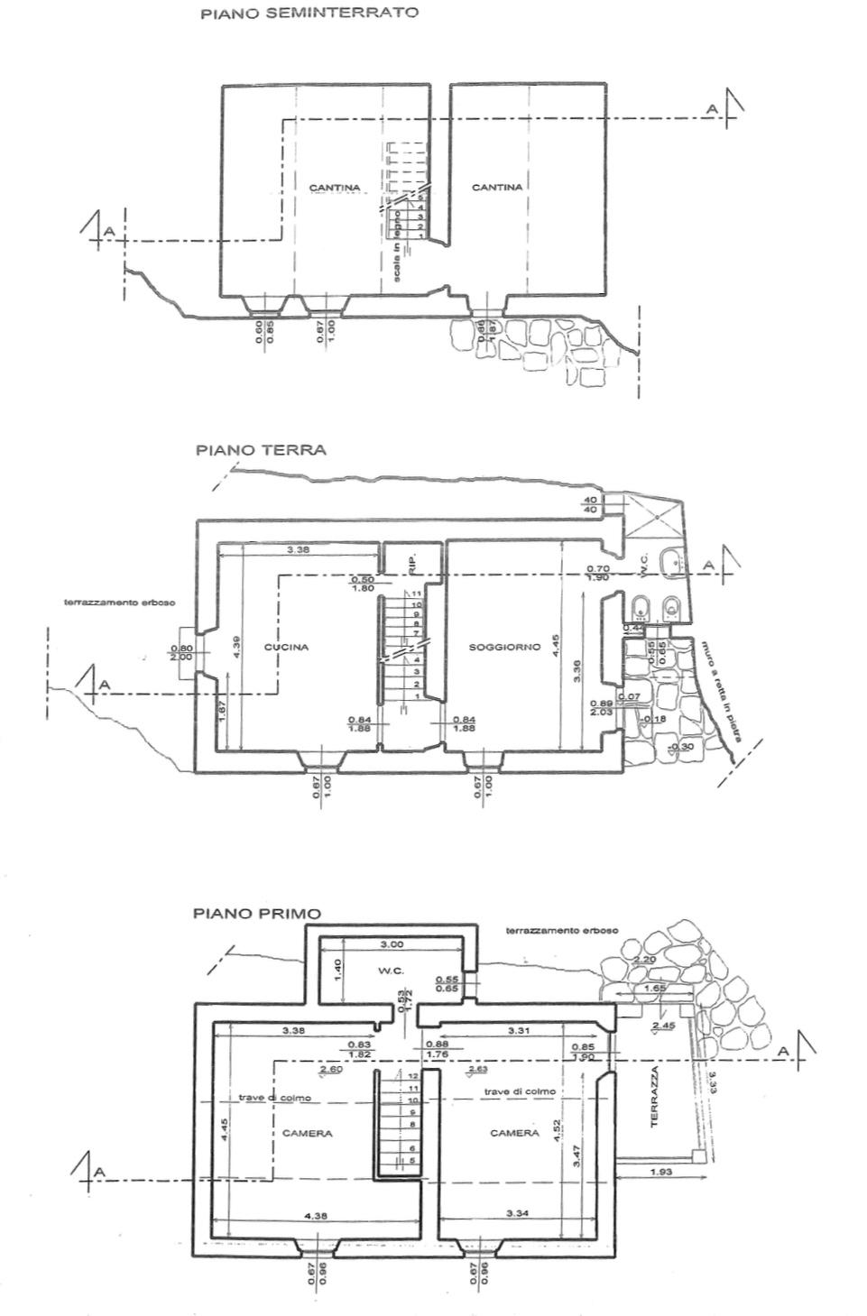 Planimetria 1/2 per rif. F/0328