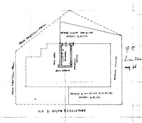 Planimetria 2/2 per rif. F/0334