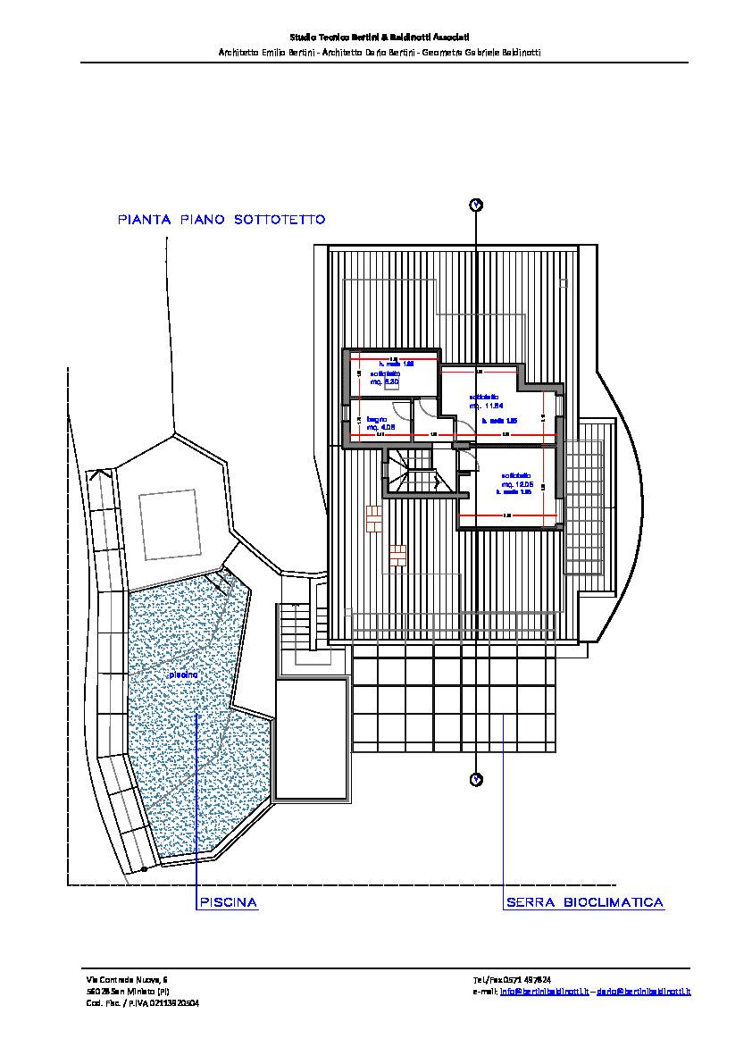 Planimetria 5/6 per rif. P/0165