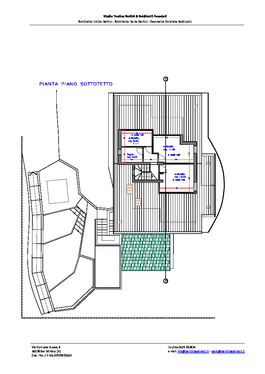 Planimetria 2/6 per rif. P/0165