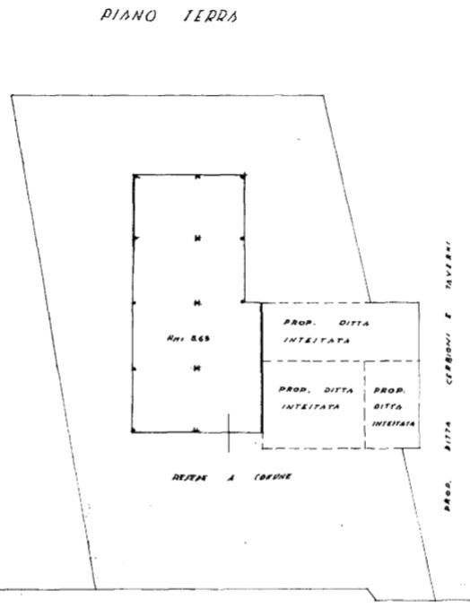 Terratetto in vendita, rif. F/0406 (Planimetria 1/5)