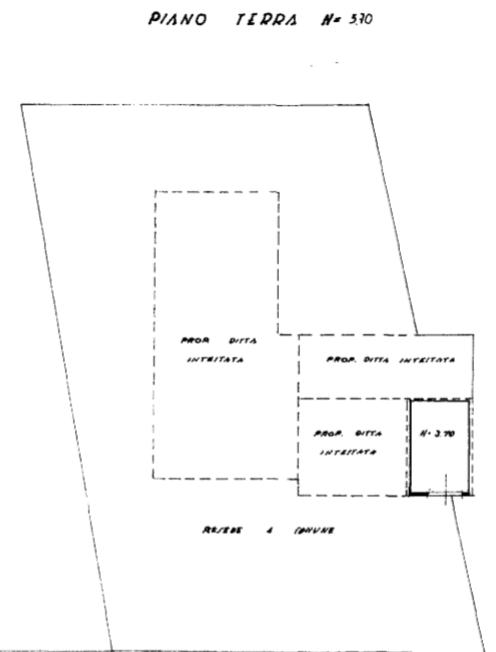 Terratetto in vendita, rif. F/0406 (Planimetria 2/5)