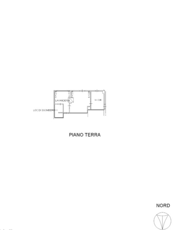 Terratetto in vendita, rif. F/0406 (Planimetria 4/5)