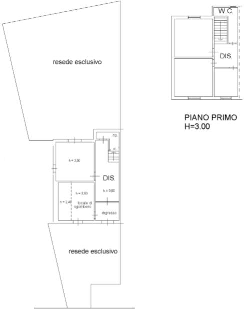 Terratetto in vendita, rif. F/0406 (Planimetria 5/5)