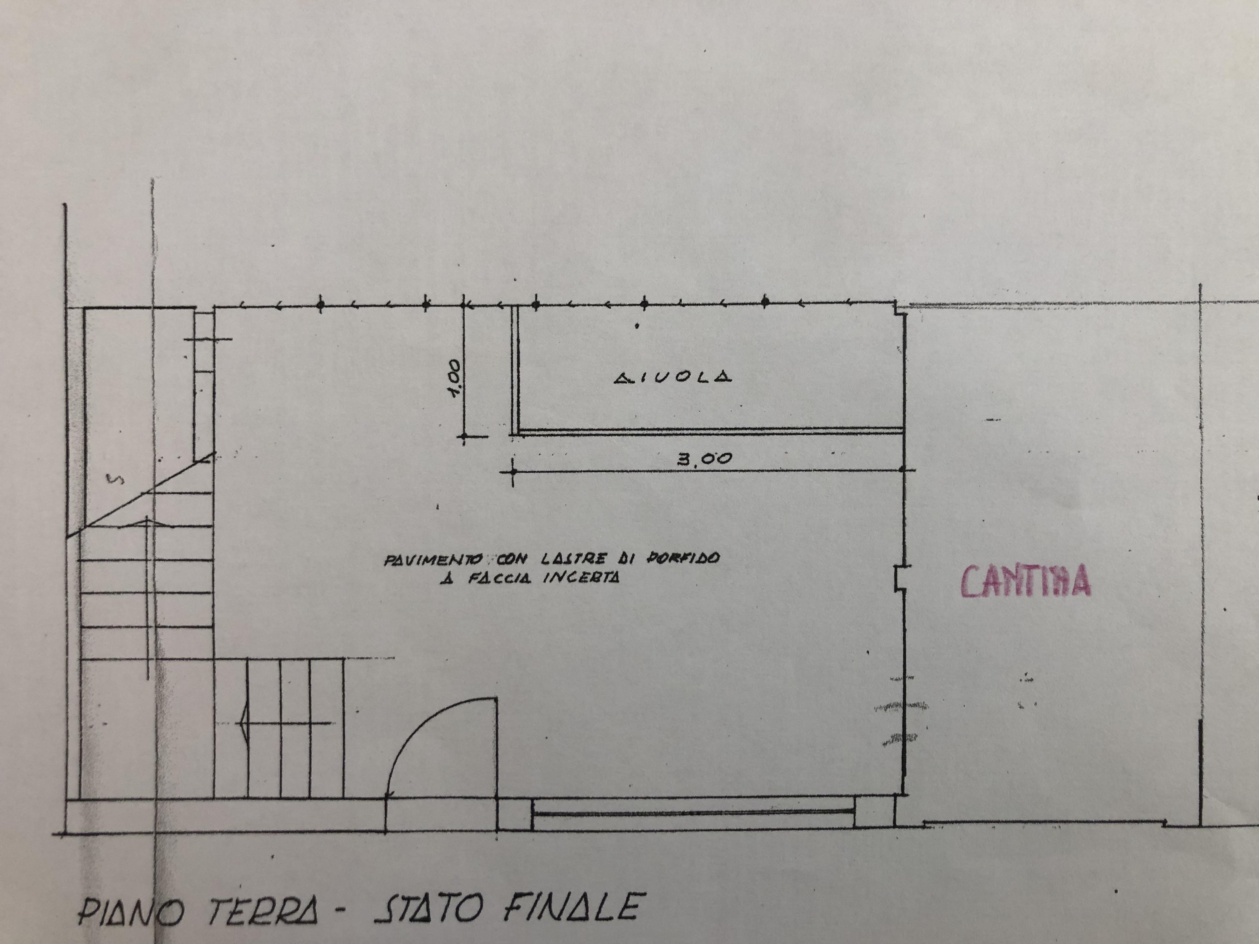 Planimetria 2/2 per rif. F/0344