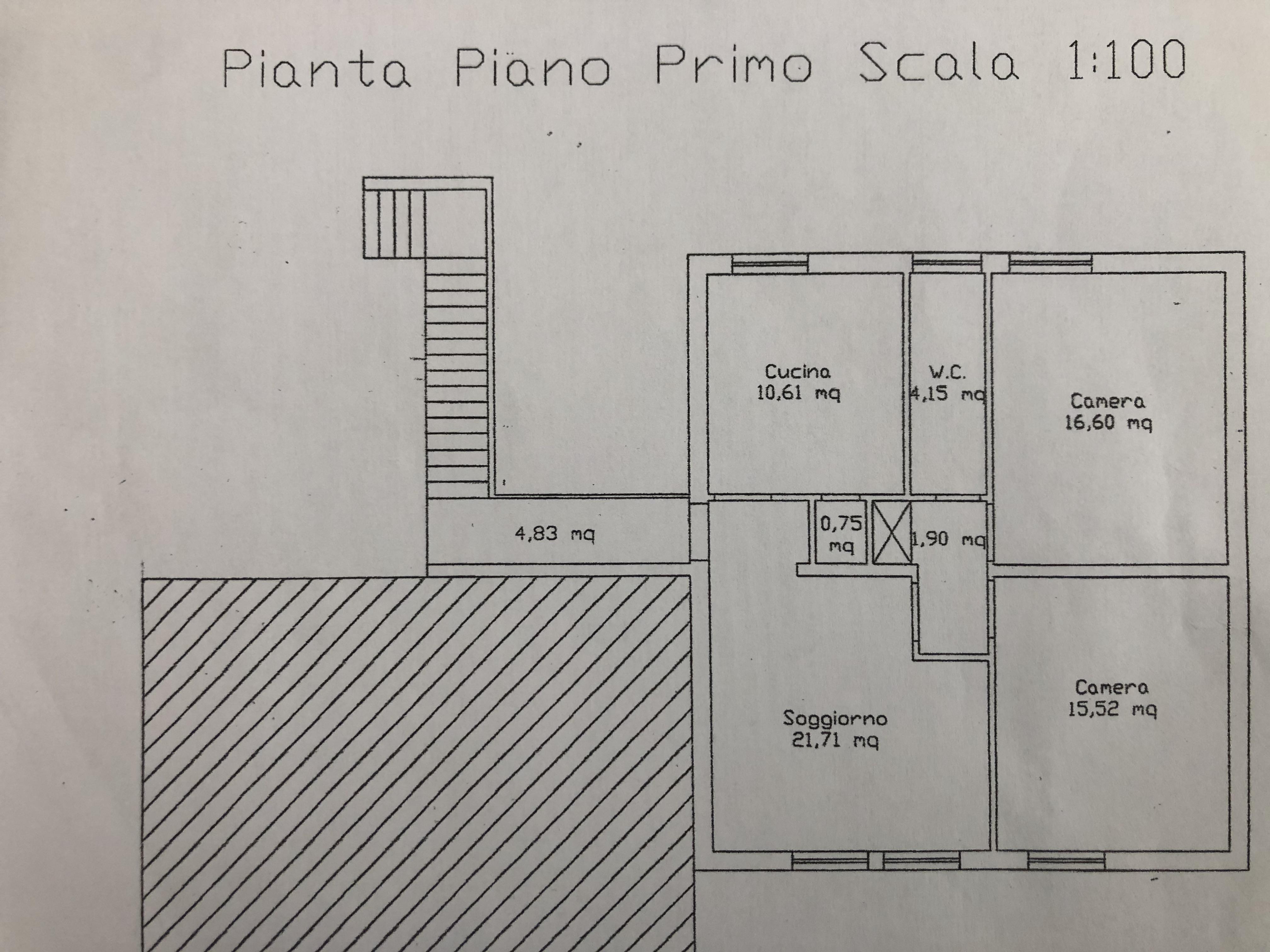 Planimetria 1/2 per rif. F/0344