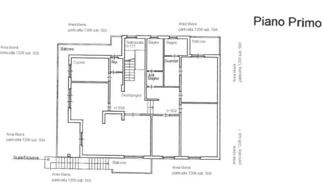 Planimetria 1/2 per rif. F/0345