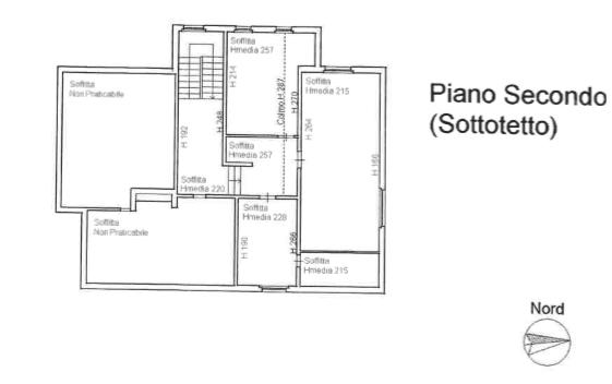 Planimetria 2/2 per rif. F/0345