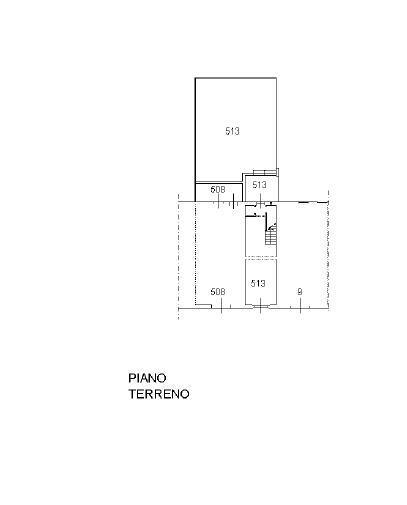Planimetria 1/3 per rif. P/0167