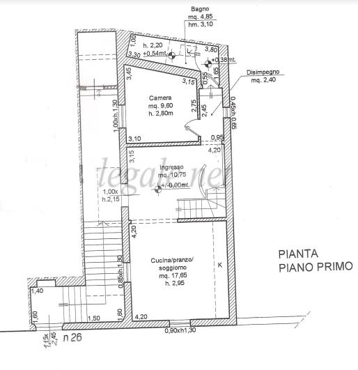 Planimetria 1/2 per rif. F/0346