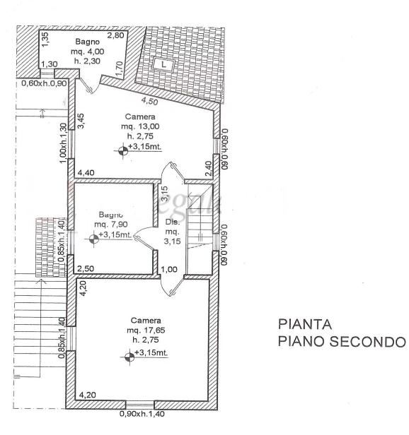 Planimetria 2/2 per rif. F/0346