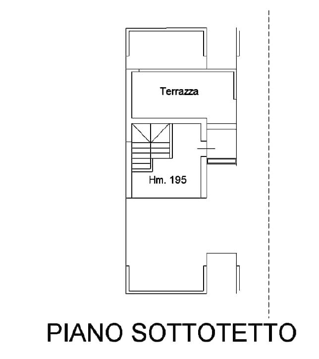 Planimetria 3/4 per rif. B/0235