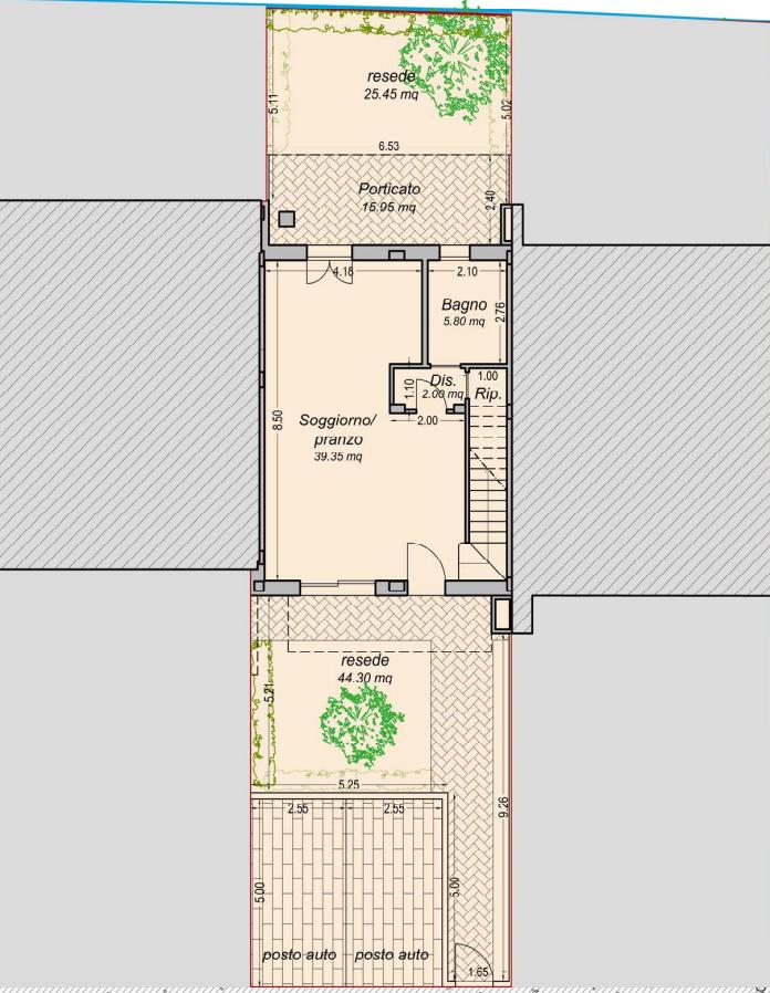 Appartamento in vendita, rif. F/0354 (Planimetria 2/3)
