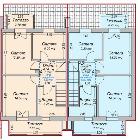 Appartamento in vendita, rif. F/0354 (Planimetria 3/3)