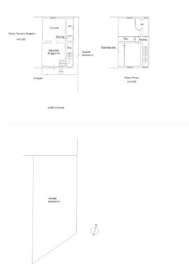 Planimetria 1/1 per rif. B/0236