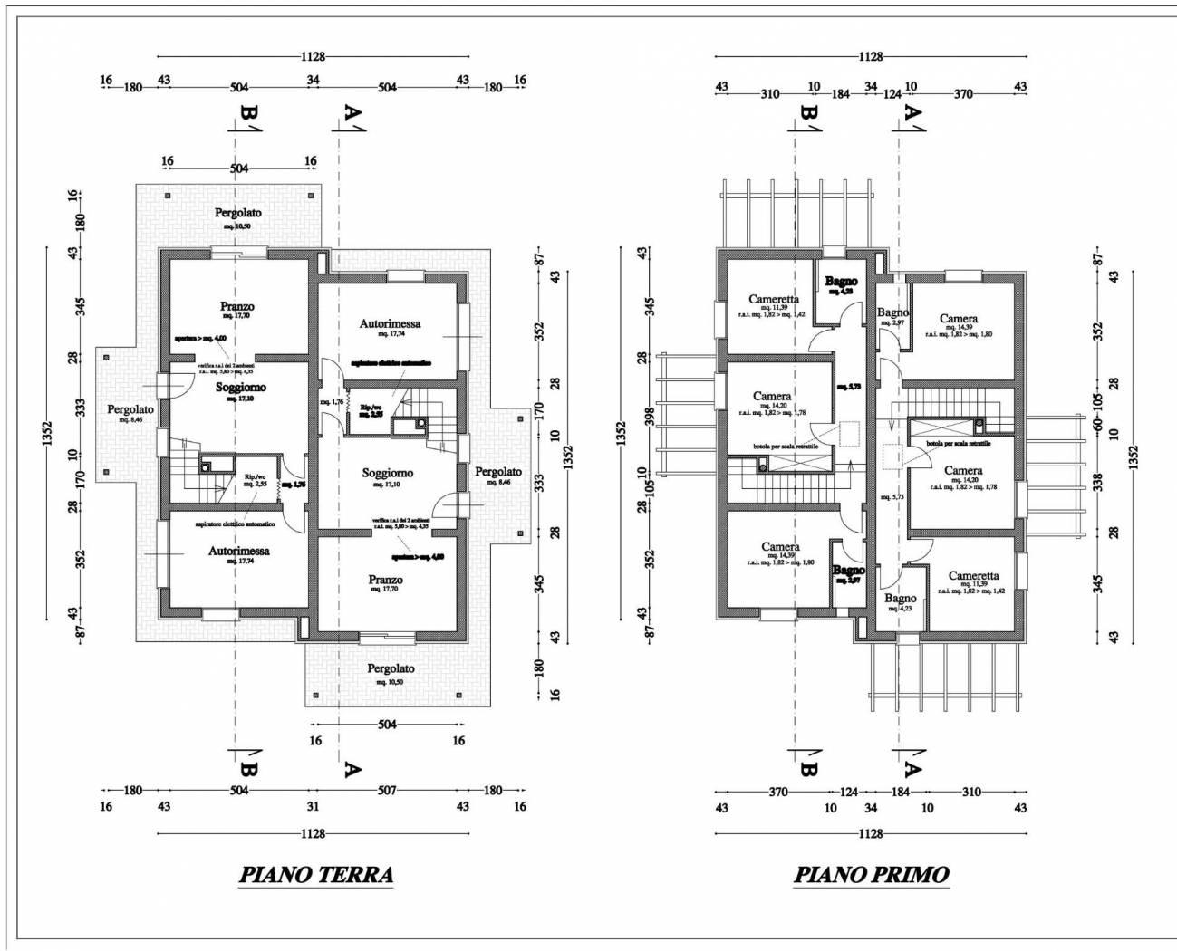 Planimetria 1/1 per rif. F/0355