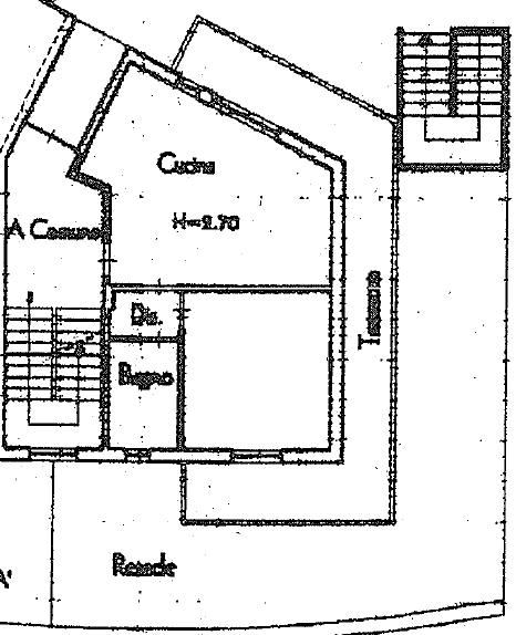 Planimetria 1/2 per rif. B/0238