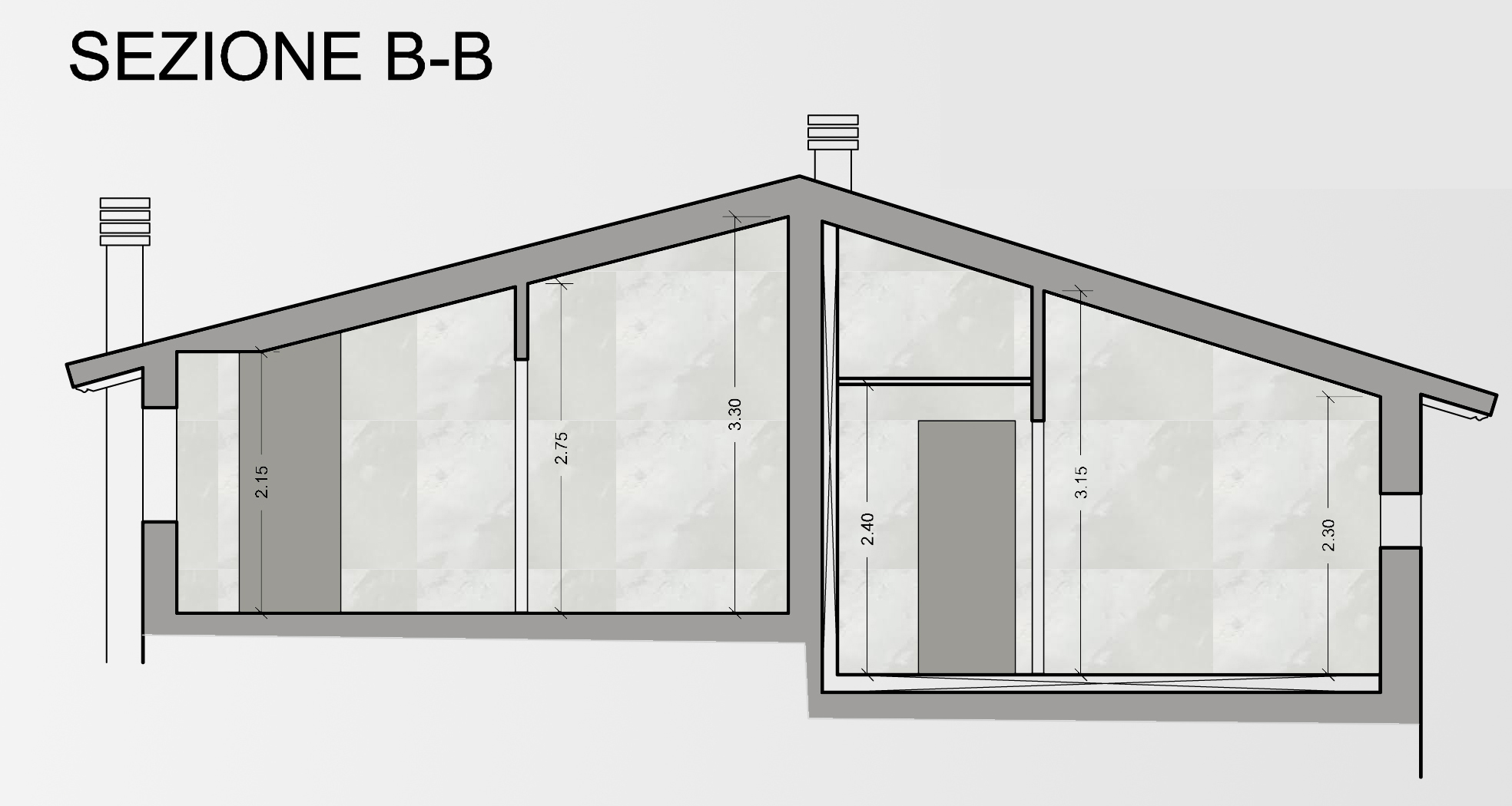 Appartamento in vendita, rif. F/0360 (Planimetria 3/3)