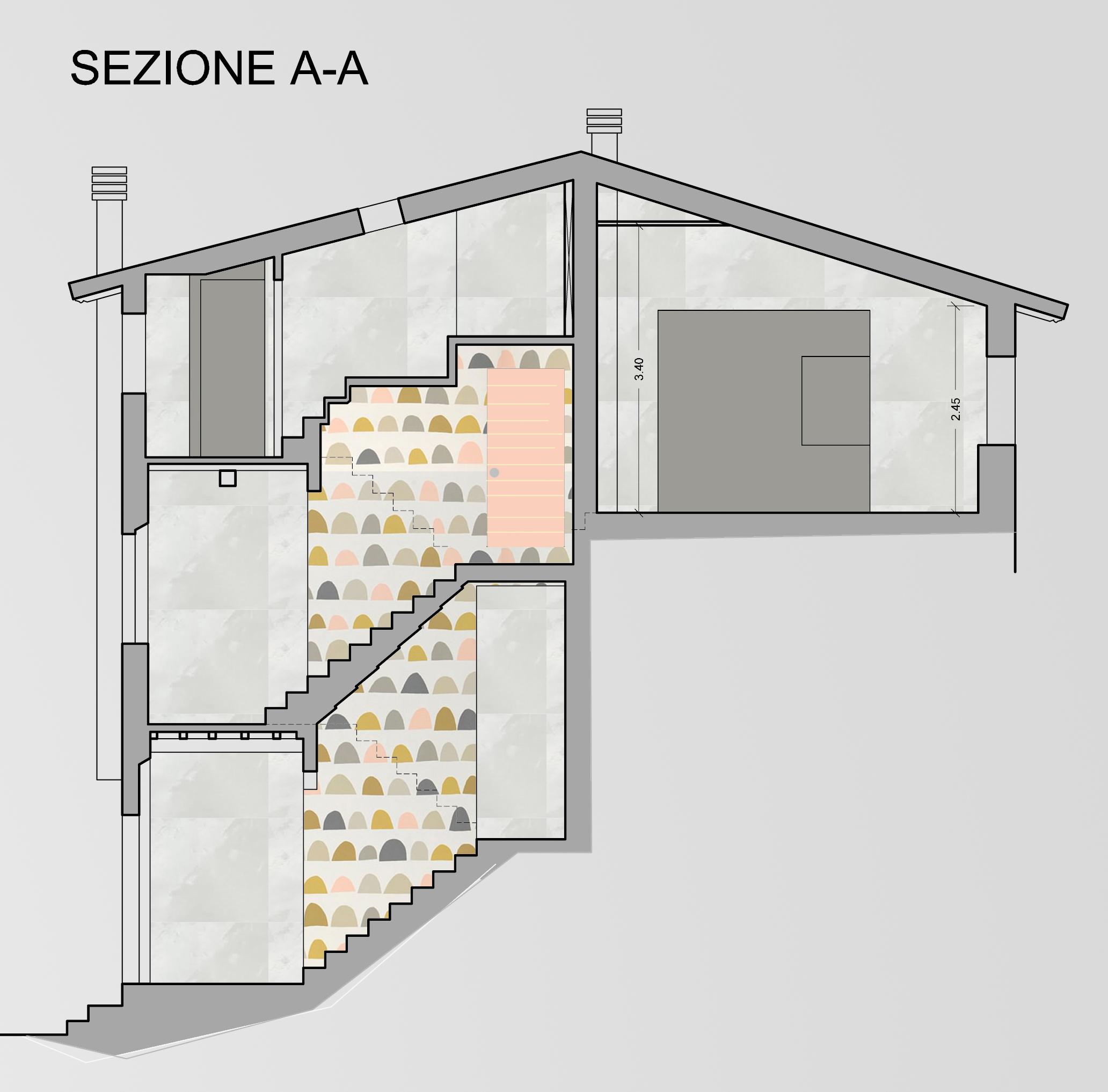 Appartamento in vendita, rif. F/0360 (Planimetria 2/3)