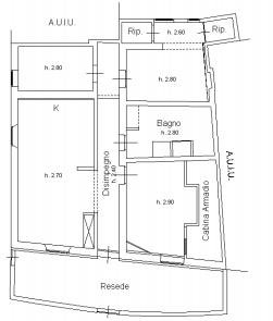 Planimetria 1/1 per rif. F/0361