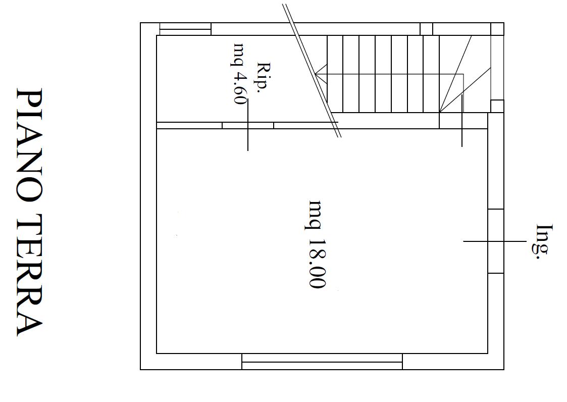 Planimetria 1/2 per rif. M/ 0291