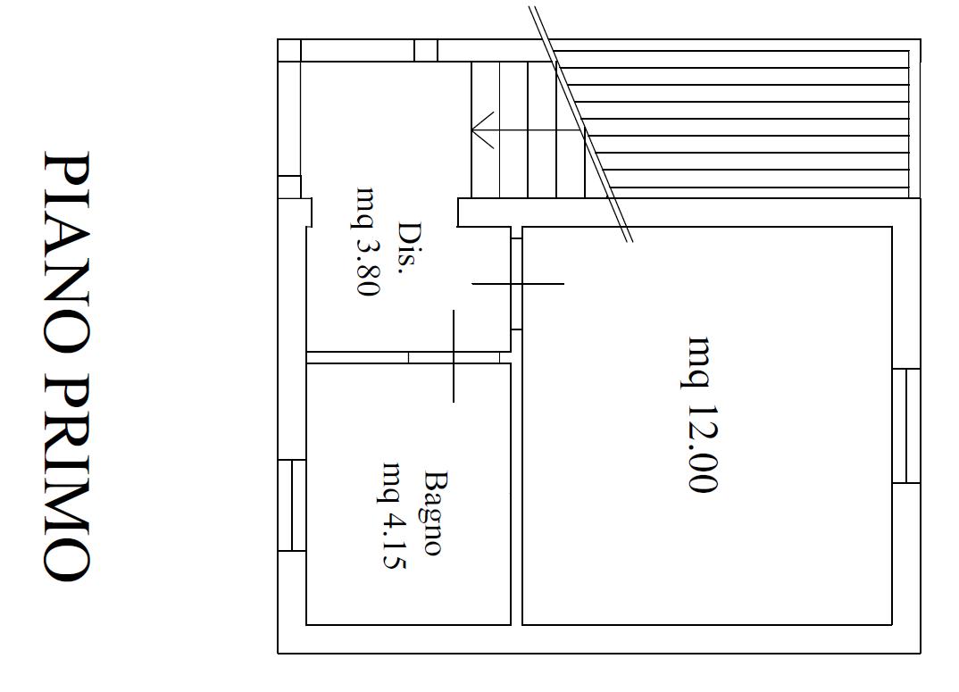 Planimetria 2/2 per rif. M/ 0291
