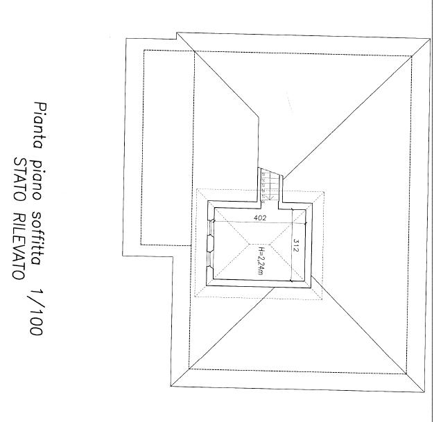 Planimetria 3/3 per rif. F/0362