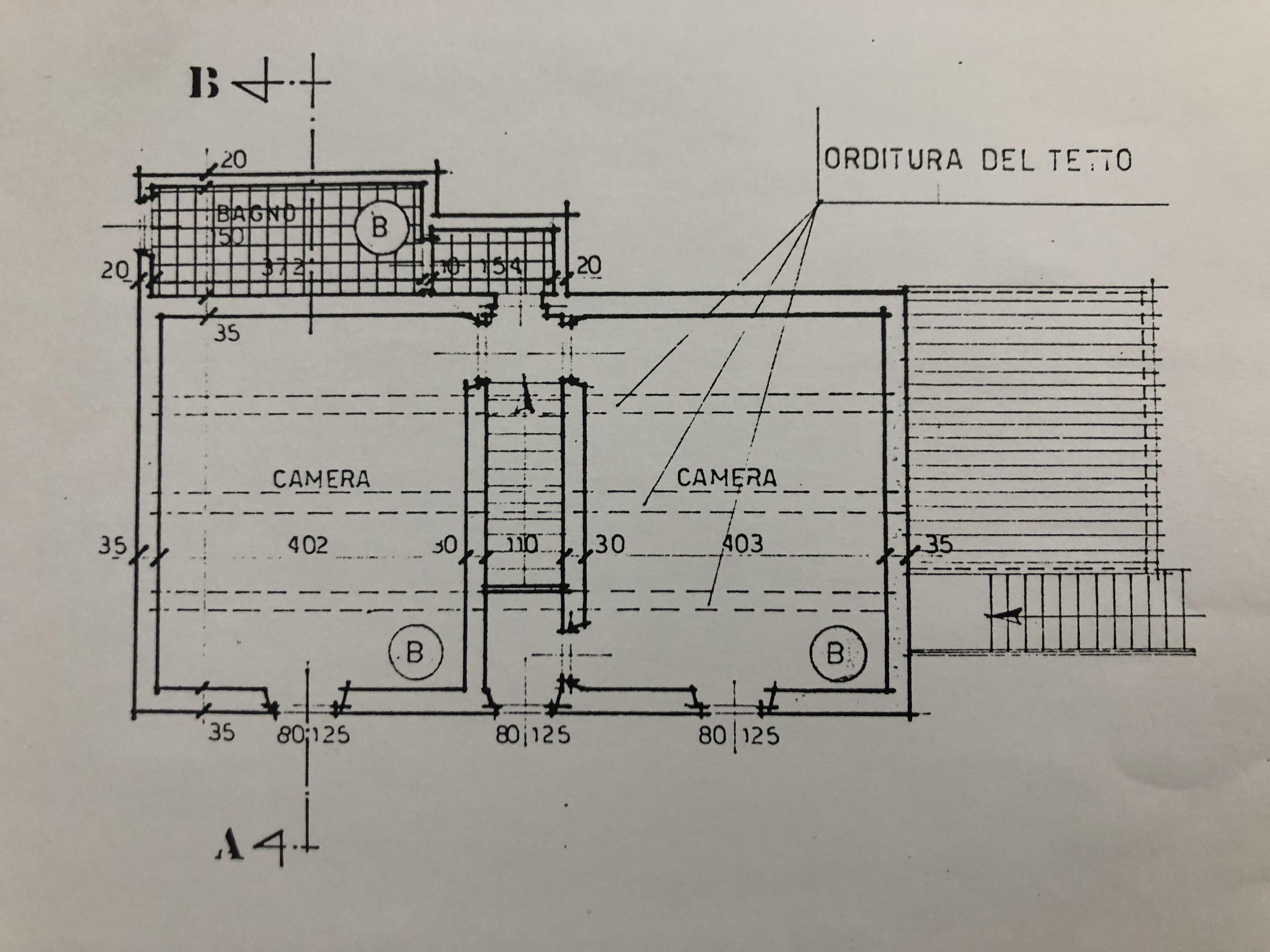 Planimetria 2/8 per rif. F/0363