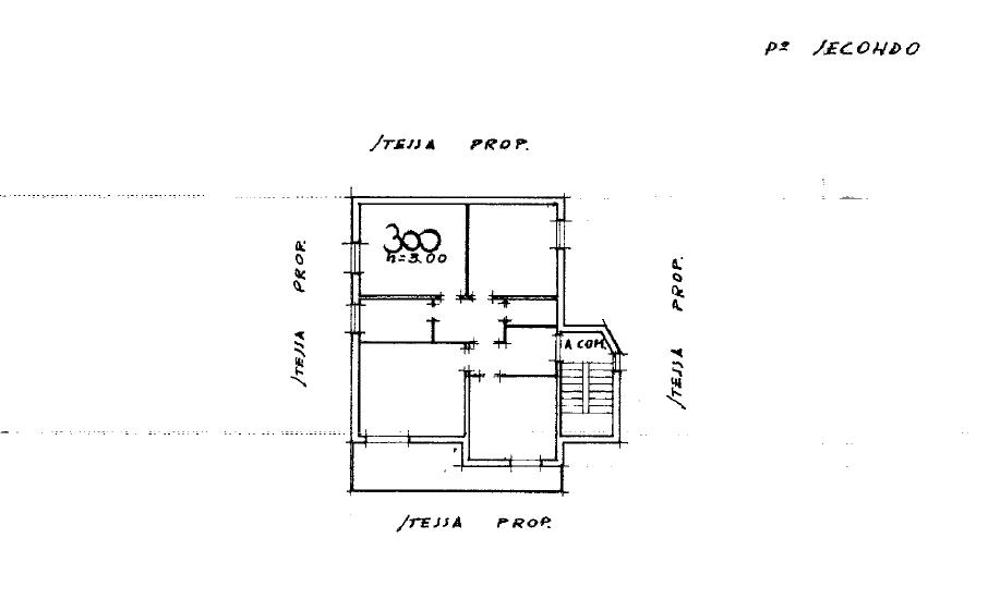 Planimetria 1/2 per rif. P/0170