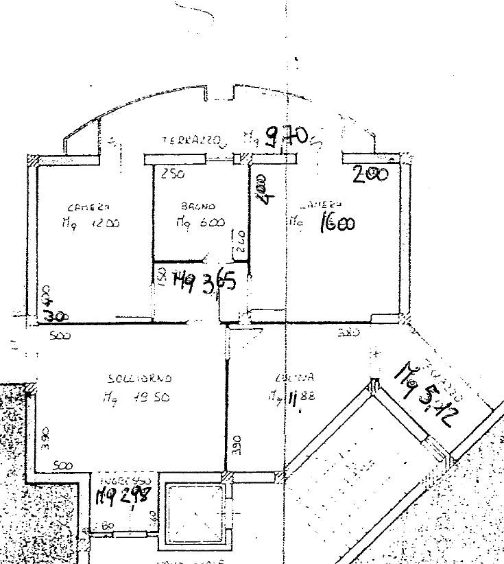 Planimetria 1/1 per rif. B/0244
