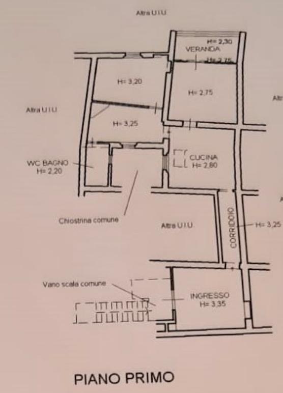 Planimetria 1/1 per rif. F/0369