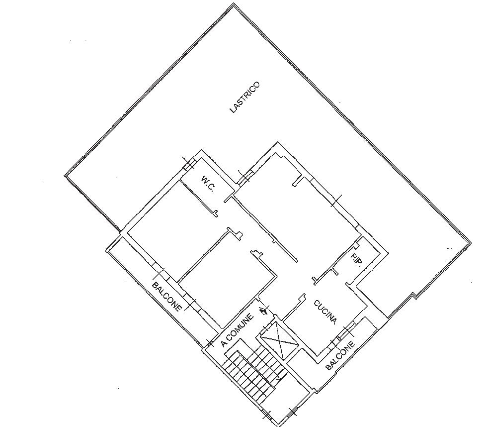 Planimetria 1/1 per rif. B/0247
