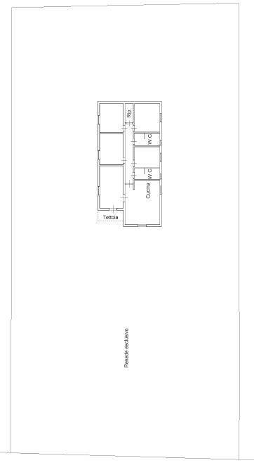Villa singola in vendita, rif. M/0304 (Planimetria 2/2)
