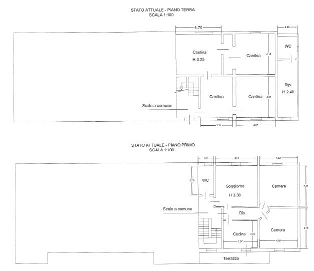 Villa singola in vendita, rif. F/0380 (Planimetria 1/6)