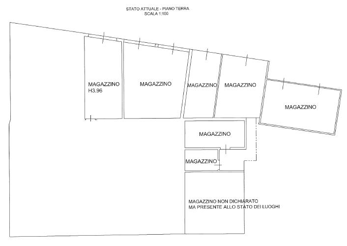 Villa singola in vendita, rif. F/0380 (Planimetria 5/6)