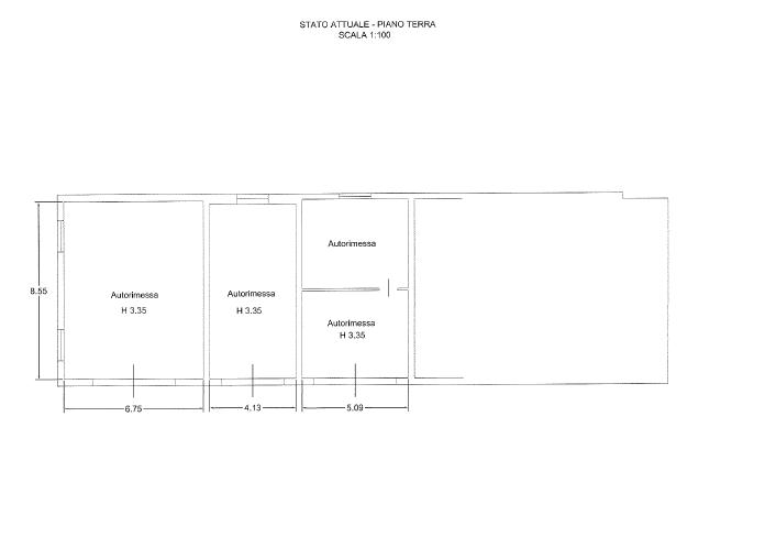 Villa singola in vendita, rif. F/0380 (Planimetria 3/6)