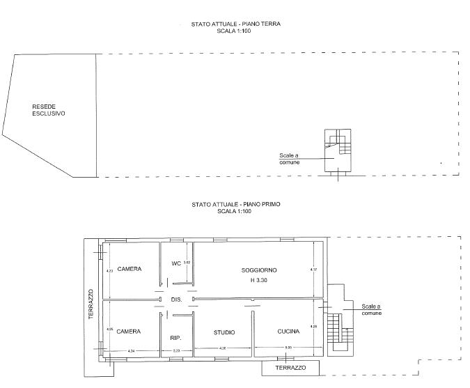 Villa singola in vendita, rif. F/0380 (Planimetria 2/6)