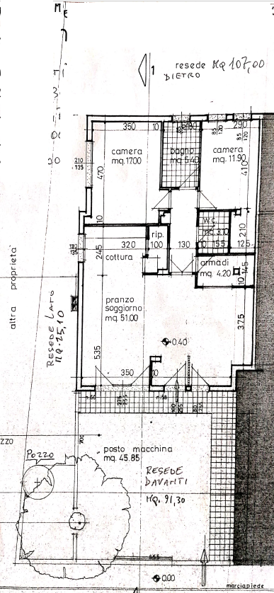 Planimetria 1/1 per rif. M/0305