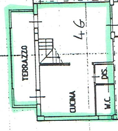 Planimetria 1/3 per rif. P/0176