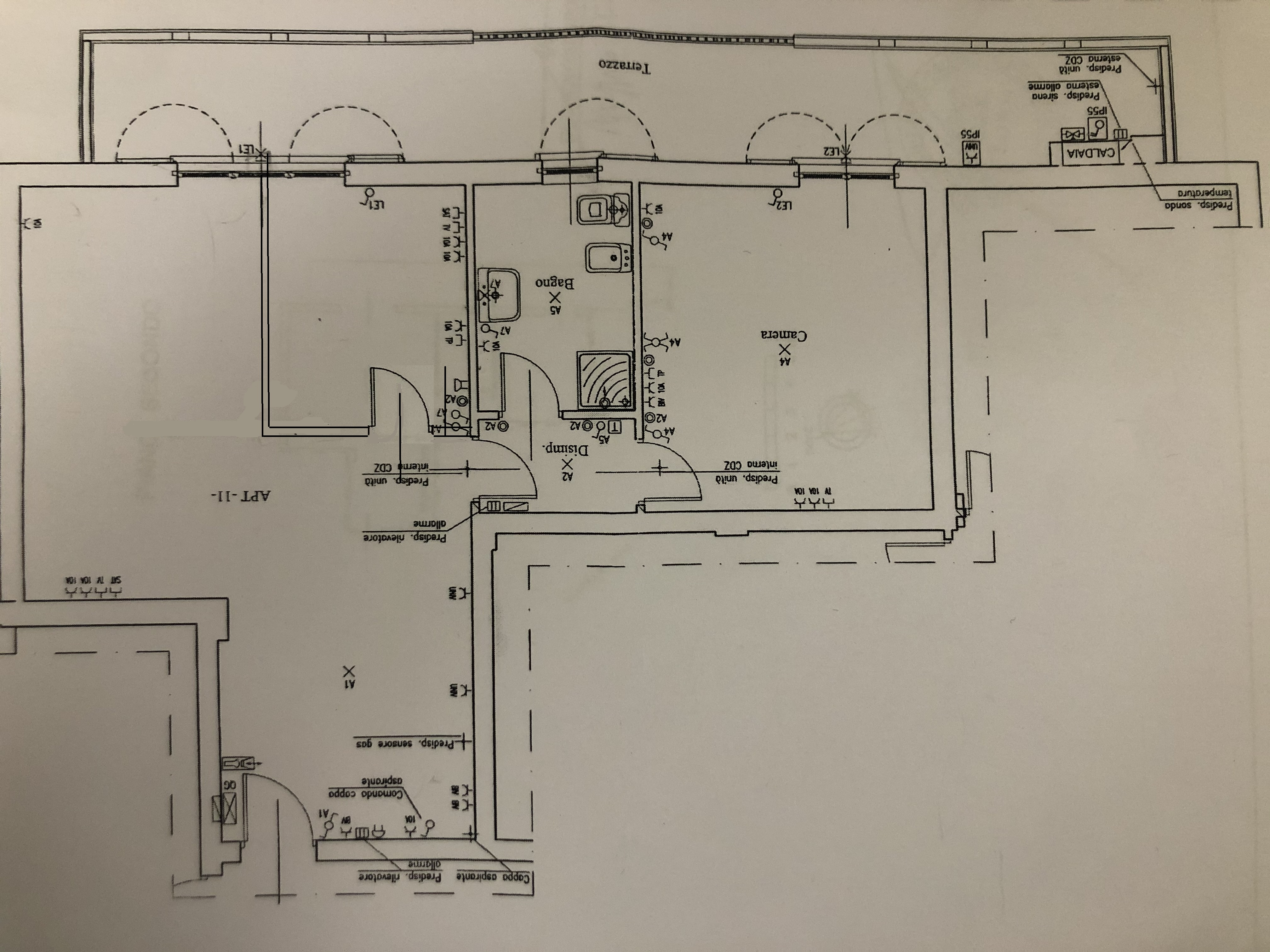 Planimetria 2/2 per rif. F/0386