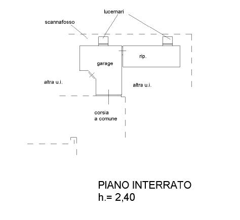 Appartamento in vendita, rif. F/0392 (Planimetria 2/2)