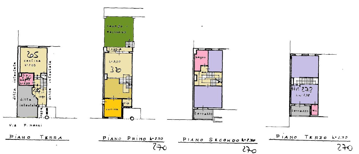 Planimetria 1/1 per rif. F/0394
