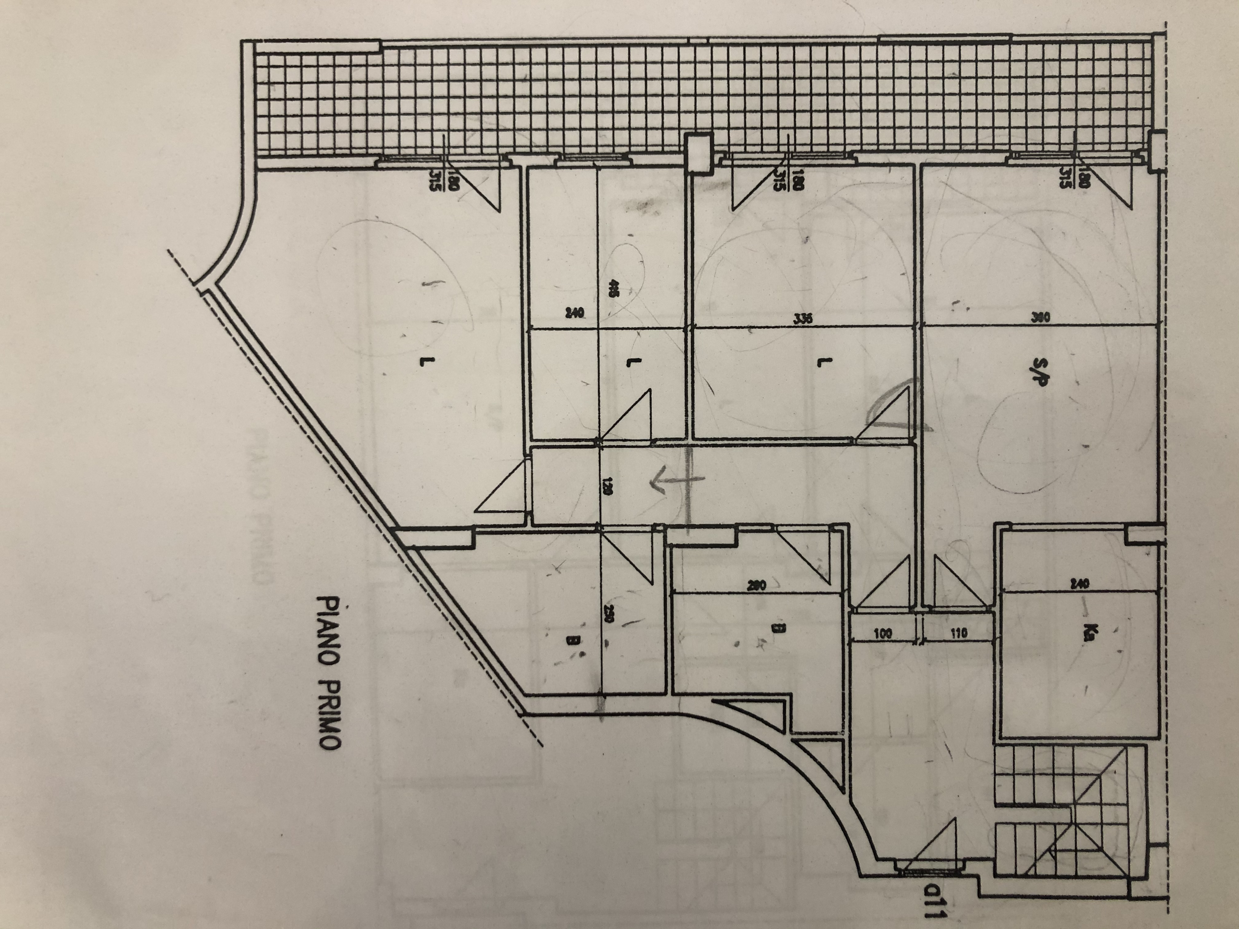 Planimetria 1/2 per rif. F/0396