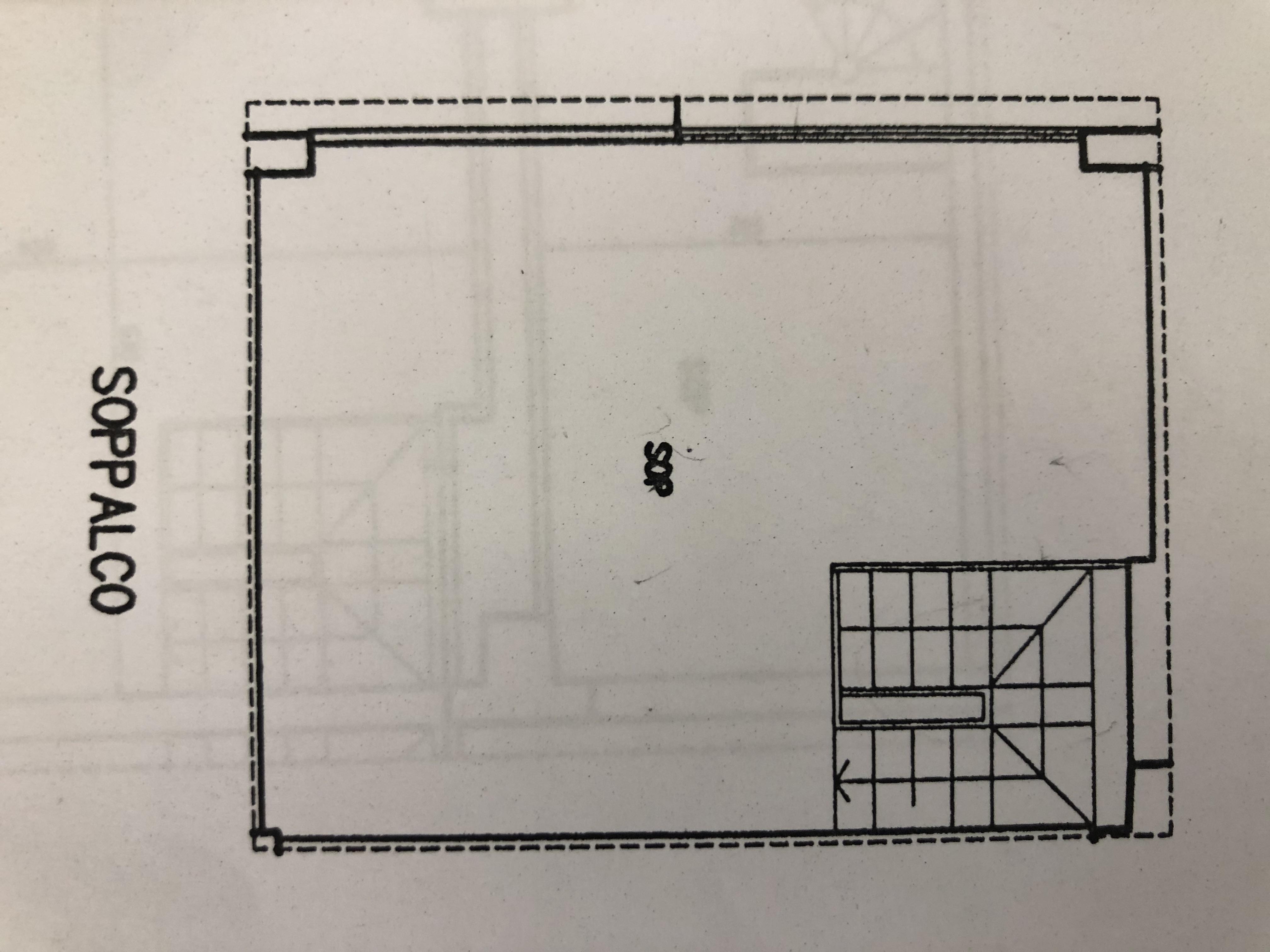 Appartamento in vendita, rif. F/0396 (Planimetria 2/2)