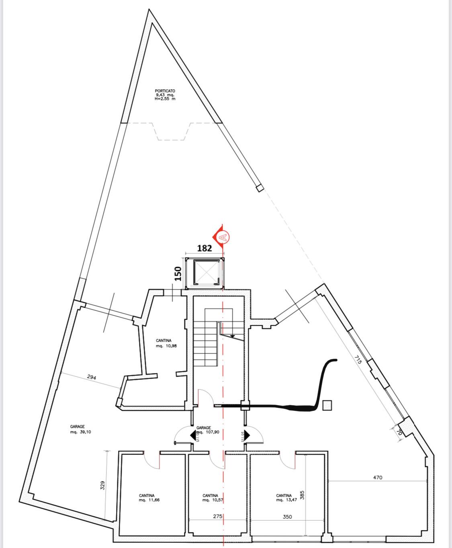 Planimetria 2/2 per rif. F/0397