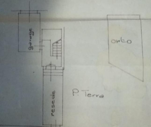Casa semindipendente in vendita, rif. P/0178 (Planimetria 1/2)