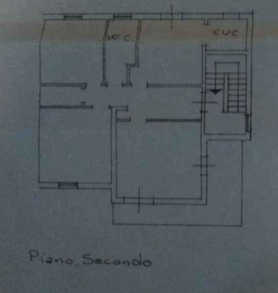Planimetria 2/2 per rif. P/0178