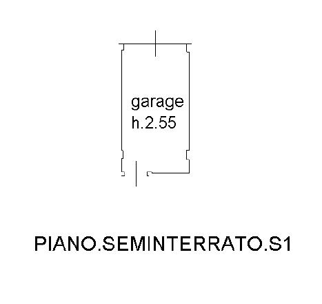 Appartamento in vendita, rif. F/0402 (Planimetria 2/2)