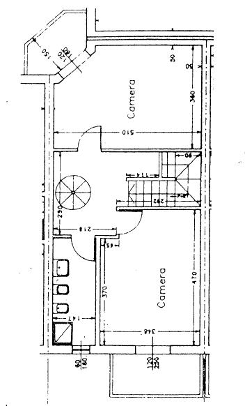 Villetta a schiera in vendita, rif. P/0179 (Planimetria 3/4)