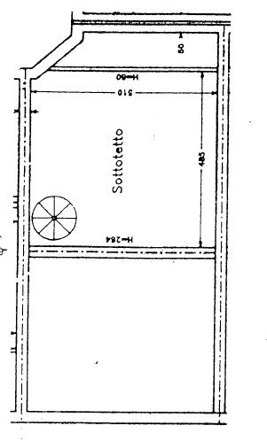 Villetta a schiera in vendita, rif. P/0179 (Planimetria 4/4)